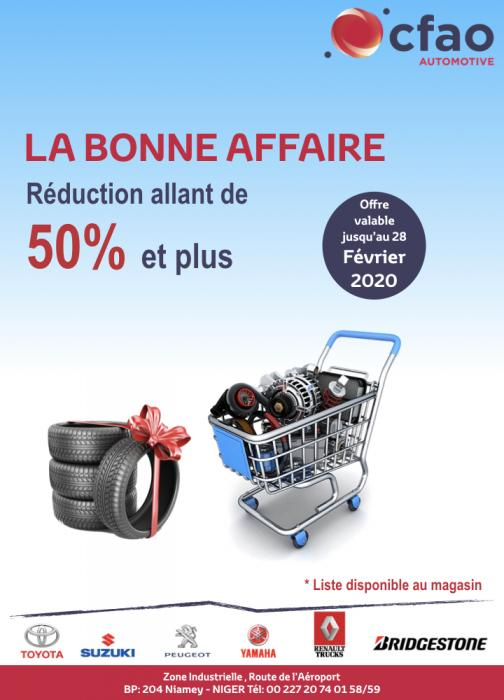 LA BONNE AFFAIRE BY CFAO